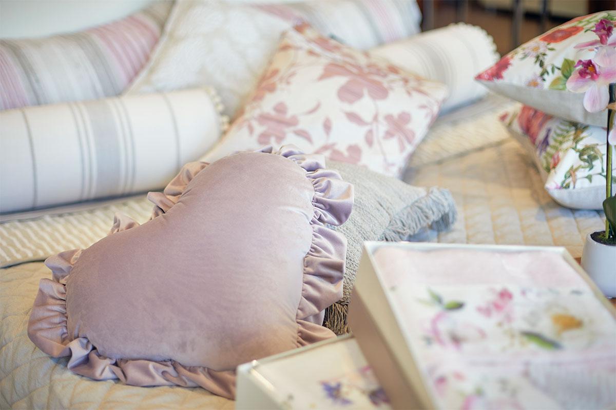 La biancheria da letto di Profumo di Casa Forlì